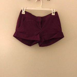 Purple forever21 shorts